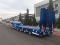 New 4 Axles Lowbed Trailer