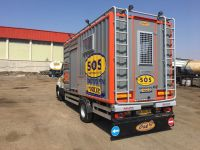 Truck mounted mobile workshop systems