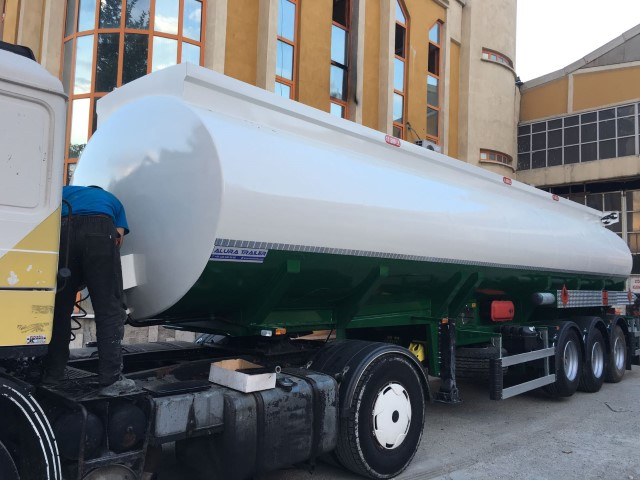 Tanker Trailer - Bottom Loading System - ALURA TRAILER