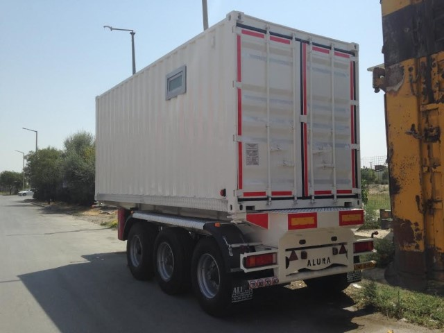 Container Chassis Handle : Extendable container chassis alura trailer