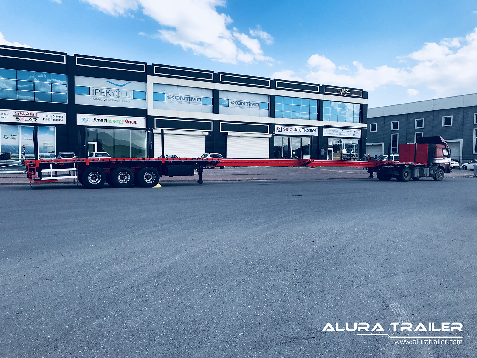 Alura Extendable Flatbed 0408