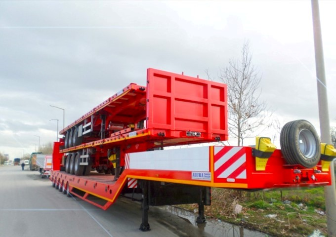 Flatbed trailers go to Africa